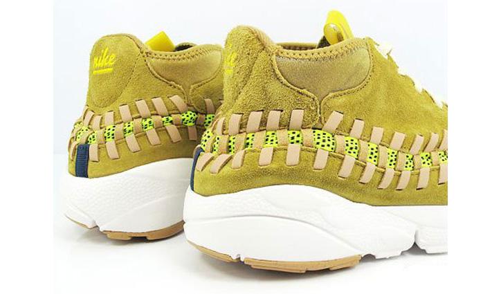 Photo02 - Nike Air Footscape Woven Chukka Yellow Suede/Gum