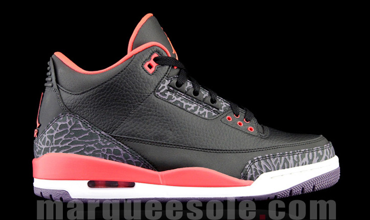 Photo02 - AIR JORDAN 3 BRIGHT CRIMSOM