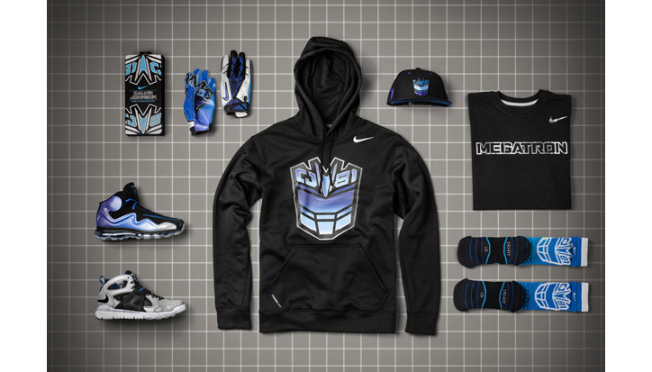 "Photo01 - Calvin Johnson x Nike ""Megatron"" CJ81 Collection"