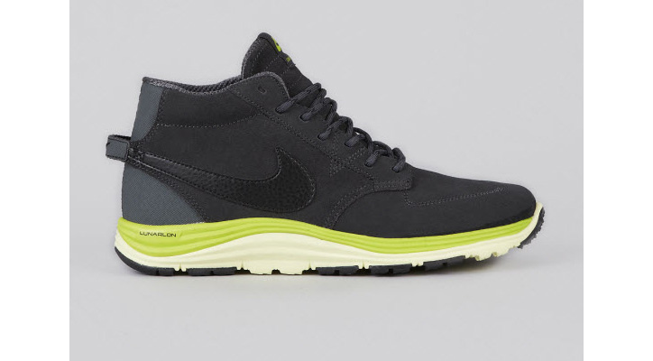 Photo01 - NIKE SB LUNAR BRAATA MID OMS ANTHRACITE/BLACK-ATOMIC GREEN