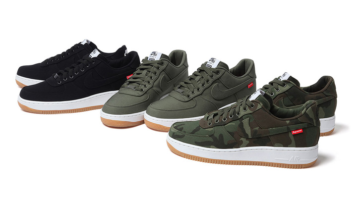 Photo01 - Supreme x Nike 2012 Air Force 1