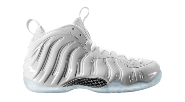 NIKE AIR FOAMPOSITE ONE WHITE/SUMMIT WHITE