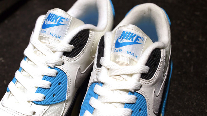 Photo05 - NIKE AIR MAX 90 OG 「LIMITED EDITION for SELECT」WHT/BLK/SAX