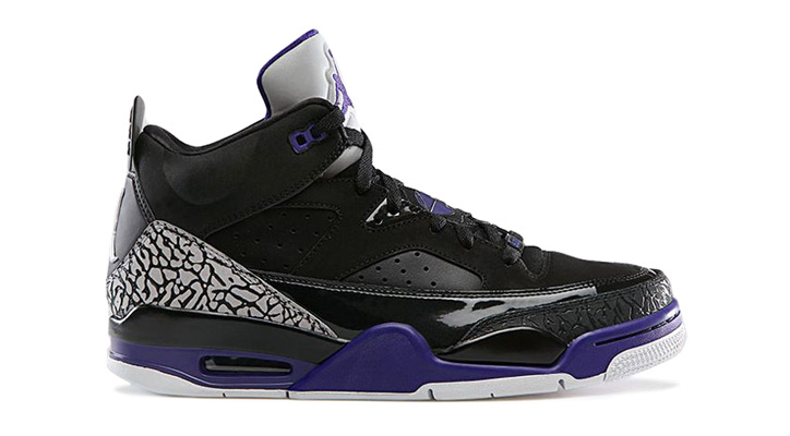 NIKE JORDAN SON OF LOW BLACK/GRAPE ICE-WHITE