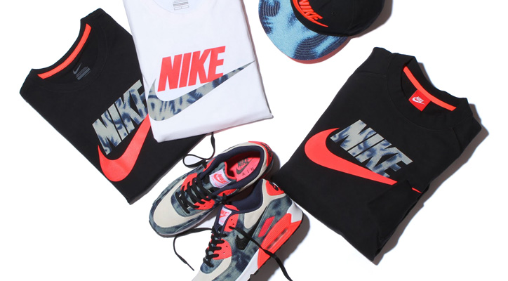 Photo01 - NIKE BLEACHED DENIM PACK が Sports Lab by atmos LUCUA OSAKA のオープンに合わせ先行発売