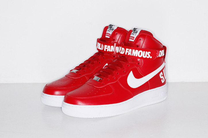 Photo05 - Supreme x NIKE AIR FORCE 1 HIGH が遂に発売