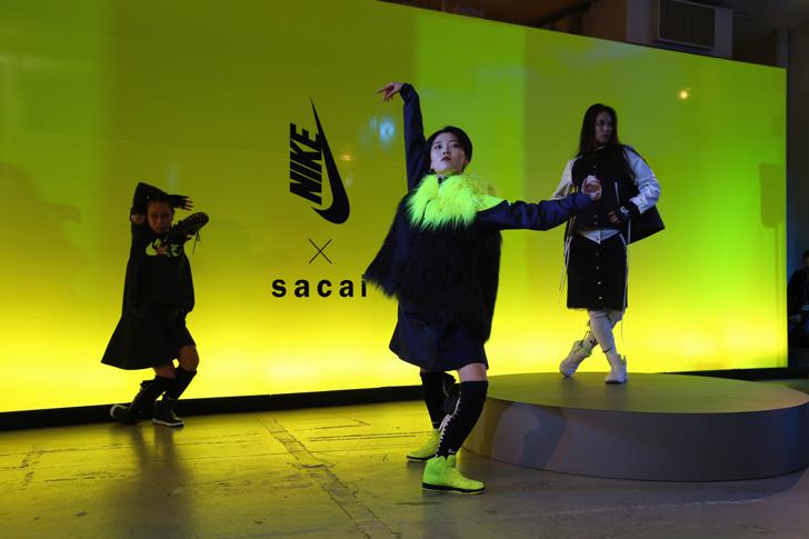Photo01 - NikeLab x sacaiがスポーツウェアの定番に暖かく贅沢なひねりを加えた秋冬のコレクションを発表