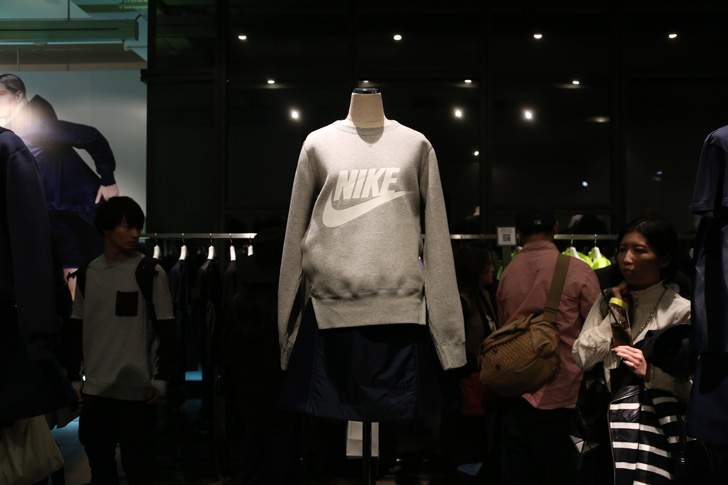 Photo05 - NikeLab x sacaiがスポーツウェアの定番に暖かく贅沢なひねりを加えた秋冬のコレクションを発表