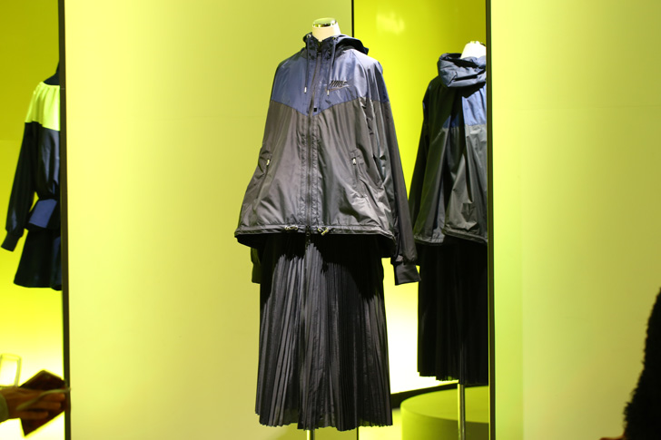 Photo09 - NikeLab x sacaiがスポーツウェアの定番に暖かく贅沢なひねりを加えた秋冬のコレクションを発表