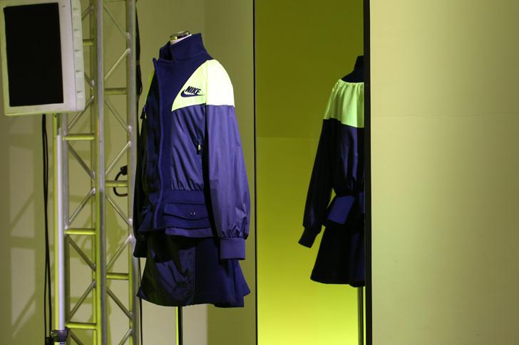 Photo11 - NikeLab x sacaiがスポーツウェアの定番に暖かく贅沢なひねりを加えた秋冬のコレクションを発表