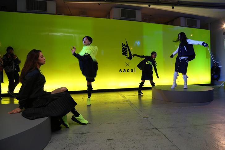 Photo17 - NikeLab x sacaiがスポーツウェアの定番に暖かく贅沢なひねりを加えた秋冬のコレクションを発表