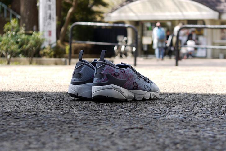 "Photo08 - ナイキから、桜をモチーフにしたmita sneakers提案モデルAIR FOOTSCAPE NM PREMIUM QS ""SAKURA""が発売"