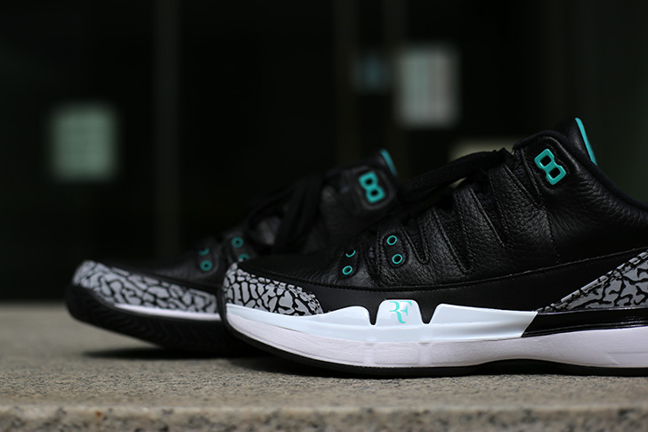 "Photo08 - NIKE COURT ZOOM VAPOR RF X AIR JORDAN 3 ""atmos""がSports Lab by atmos Shinjukuにて世界先行発売"