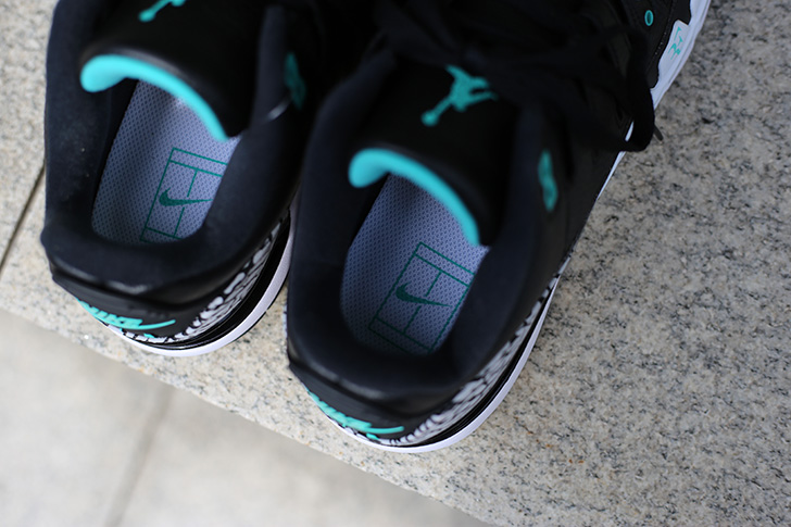 "Photo11 - NIKE COURT ZOOM VAPOR RF X AIR JORDAN 3 ""atmos""がSports Lab by atmos Shinjukuにて世界先行発売"