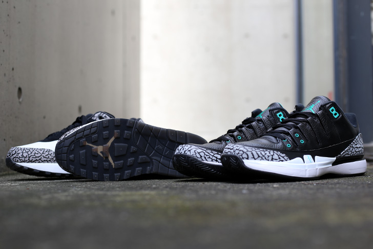 "Photo12 - NIKE COURT ZOOM VAPOR RF X AIR JORDAN 3 ""atmos""がSports Lab by atmos Shinjukuにて世界先行発売"