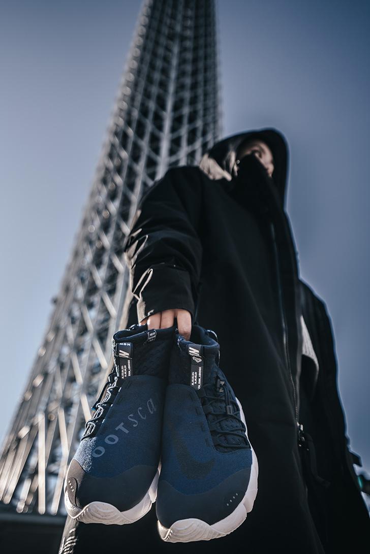 """Photo06 - ナイキは、東京のホスピタリティーをテーマにAIR FOOTSCAPE MID UTILITY """"TOKYO""""を発売"""