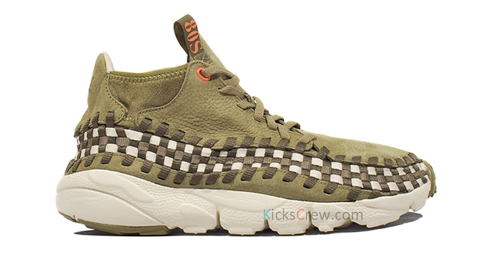 "Photo01 - NIKE AIR FOOTSCAPE WOVEN CHUKKA ""DARK ARMY"""