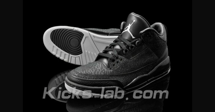 "Photo02 - NIKE AIR JORDAN 3 ""BLACK FLIP"""
