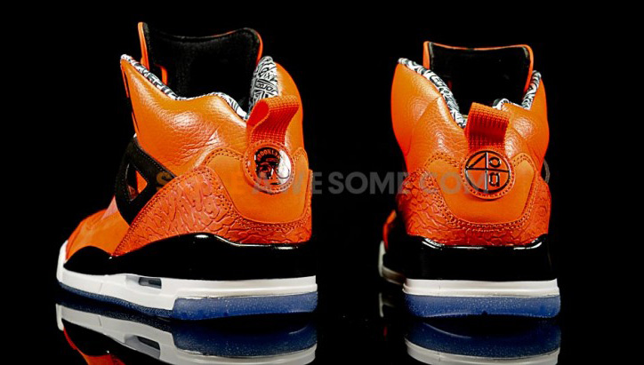 Photo03 - NIKE JORDAN SPIZIKE ORANGE/BLACK-WHITE