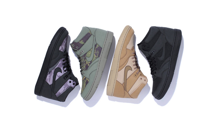 Photo01 - Stussy x Nike Sky Force 88 Mid Capsule Collection