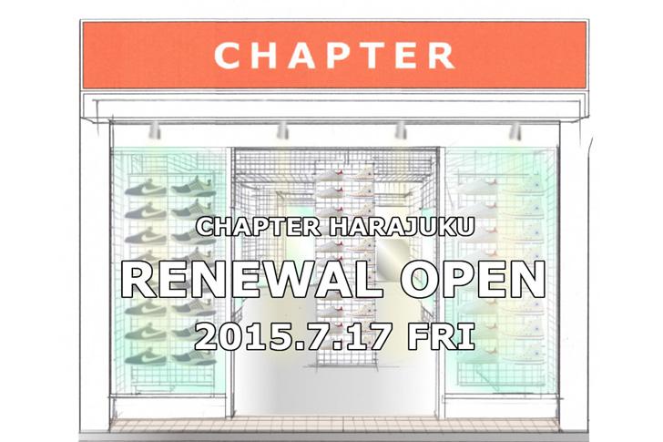 Photo01 - CHAPTER HARAJUKUが20周年を目前にリニューアルオープン