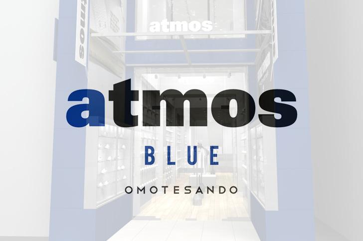 Photo01 - atmos BLUE OMOTESANDOが2017年9月16日(土)オープン