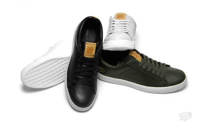 "Photo01 - UNDFTD X PUMA CLYDE ""STRIPE-OFF"" COLLECTION"