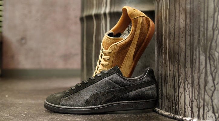 Photo01 - Puma JAPAN FIRST ROUND LO SUEDE FUR 「made in JAPAN」
