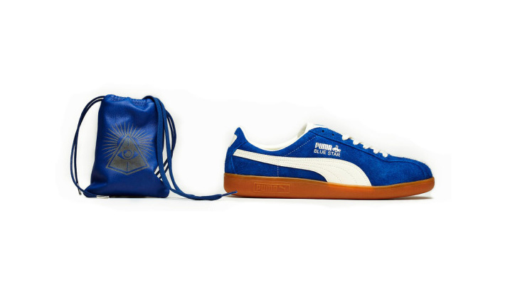 Photo01 - PUMA Shadow Society 2012 Fall/Winter Red Star and Blue Star