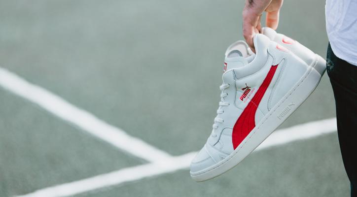 Photo01 - ドイツテニス界のスター選手BORIS FRANZ BECKER氏のシグネチャーモデル Puma BECKER OG LEATHER が復刻