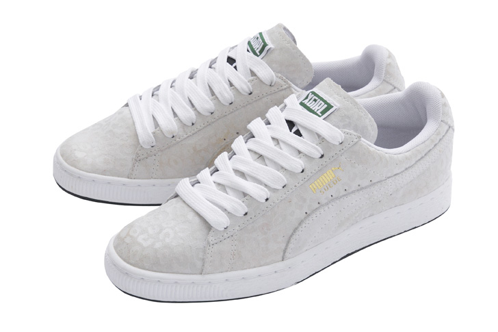 "Photo01 - プーマは、X-girlとのコラボモデル X-girl x Puma SUEDE ""WHITE PACK""を発売"