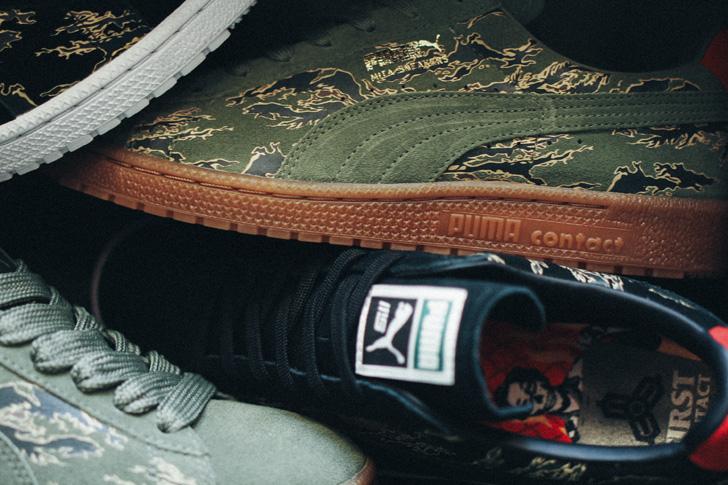 "Photo06 - プーマから、mita sneakersとSBTGがタッグを組み完成したコラボモデルCLYDE CONTACT ""First Contact""が登場"