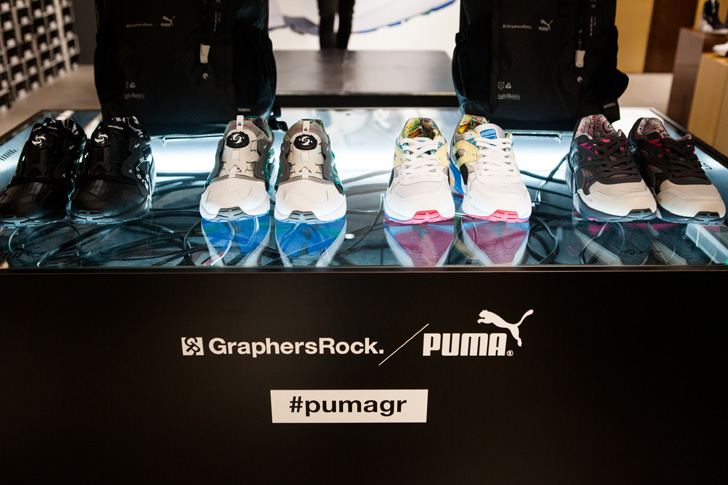 Photo01 - PUMA x GraphersRock Capsule Collection Launch Recap