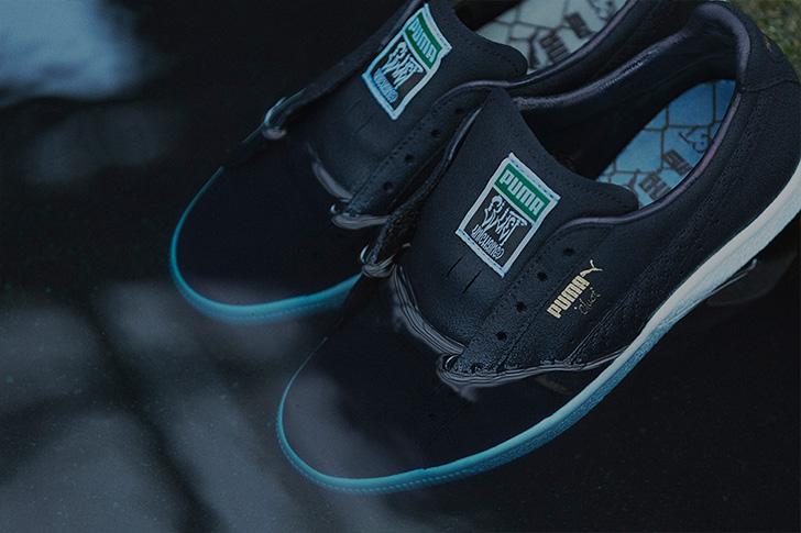 Photo11 - プーマから、アパレルブランドCLUCTとmita sneakersによるコラボレートモデルCLYDE FOR CLUCT MITAが登場