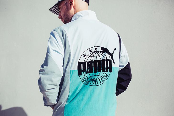 Photo13 - プーマとDiamond Supply Co. はスニーカー、アパレル、アクセサリーのコラボレーションコレクションを発売