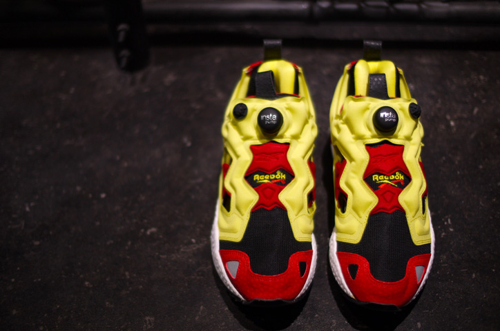 "Photo02 - Reebok INSTA PUMP FURY ""LIMITED EDITION / 世界2012足限定"""