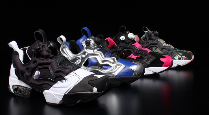 "Photo01 - Reebok INSTA PUMP FURY ""20th Anniversary"" 4コラボレーションモデルが発売"
