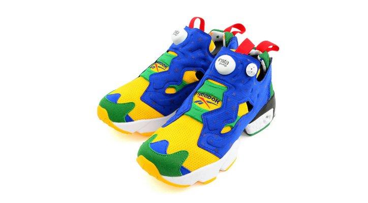 "Photo01 - Reebok INSTA PUMP FURY ""2014 BRAZIL WORLD CUP""の先行予約が開始"