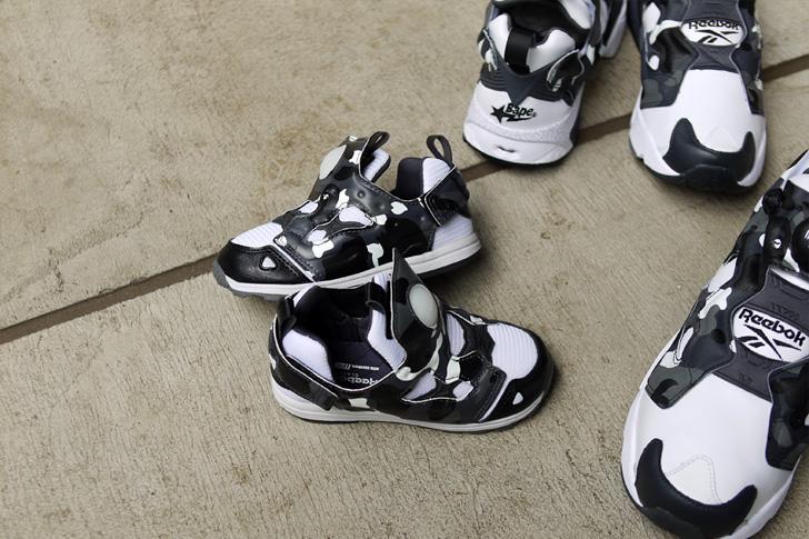 """Photo06 - リーボックは、mita sneakersとA BATHING APE®とのコラボモデル第3弾INSTA PUMP FURY """"CITY CAMO""""を発売"""
