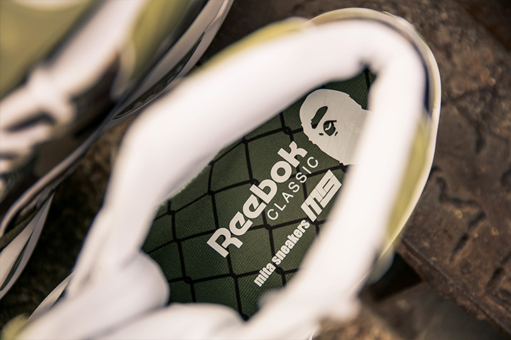 "Photo11 - リーボックから、BAPE®とmita sneakersによるコラボレーションモデルQUESTION MID ""A BATHING APE® x mita sneakers""が発売"