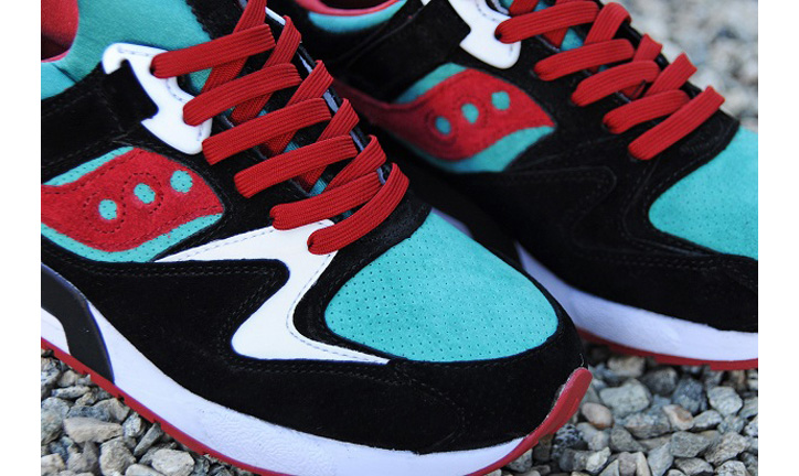 "Photo03 - BAIT x Saucony Grid 9000 ""Viridian Burner"""