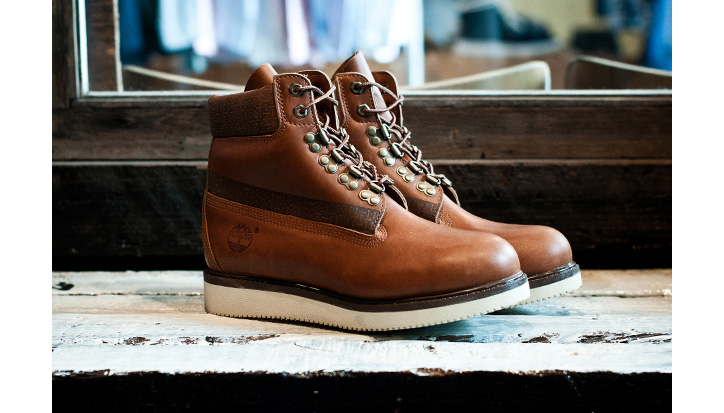Photo01 - White Mountaineering x Timberland Hiker Boots