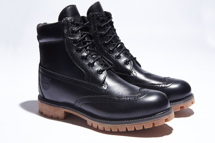 "Photo02 - ティンバーランドは、SHIPS JET BLUE限定""6inch Waterproof Brogue Boot""を発売"