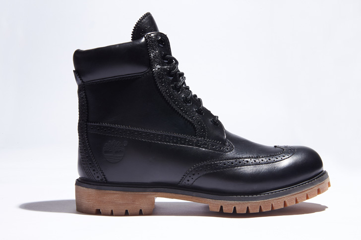 "Photo04 - ティンバーランドは、SHIPS JET BLUE限定""6inch Waterproof Brogue Boot""を発売"