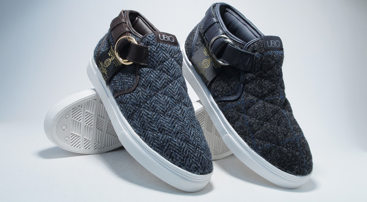 Photo01 - Harris Tweed x UBIQ eL