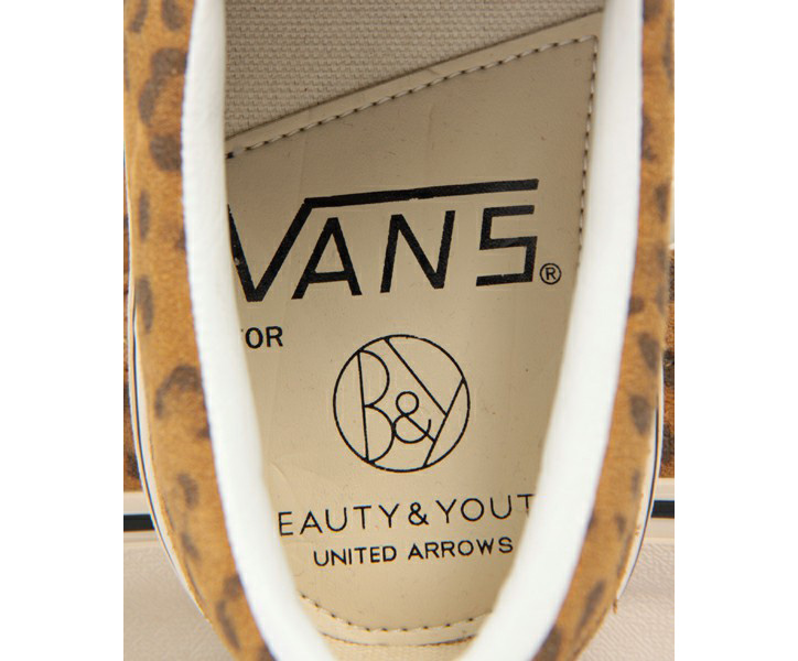 Photo05 - BEAUTY&YOUTH x VANS Leopard Slip-On