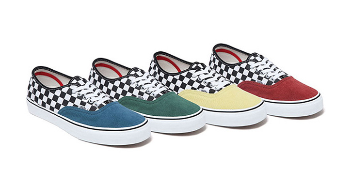 "Photo01 - SUPREME x VANS ""CHECKERED CORDUROY"" PACK"