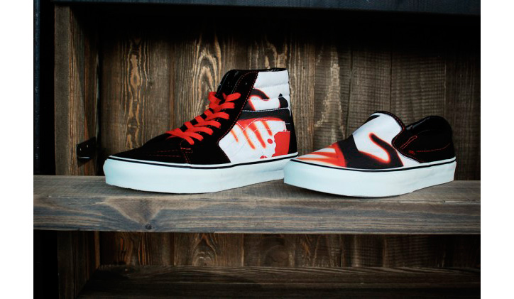 "Photo01 - Vans x Metallica ""Kill Em All"" Sk8-Hi & Slip-on"