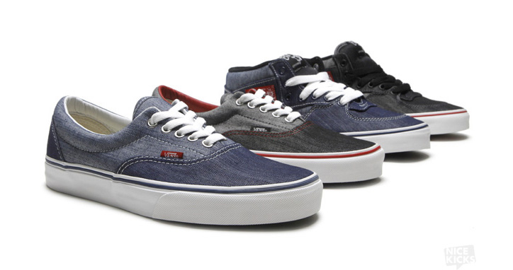 "Photo01 - VANS ERA & HALF CAB ""DENIM"""