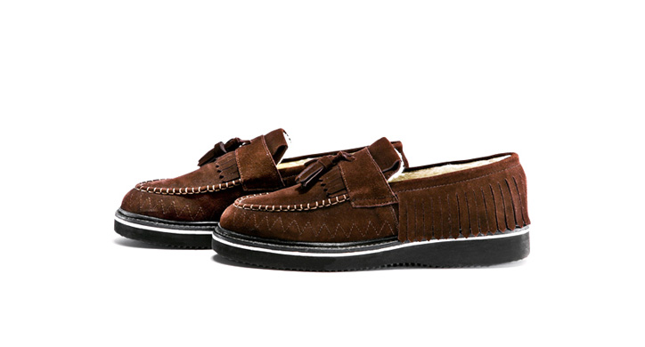 Photo01 - White Mountaineering 'Loretan' Tassle Loafer